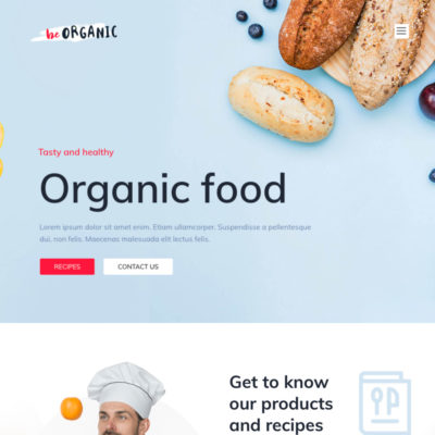 Organic Food Recipes Blog