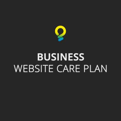 Business care plan - website maintenance package