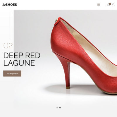 Website for premium shoes and footwear