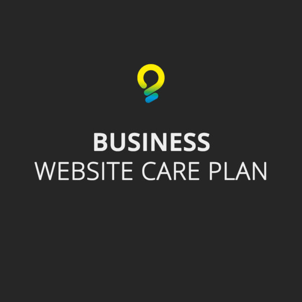 Business care plan - website maintenance package