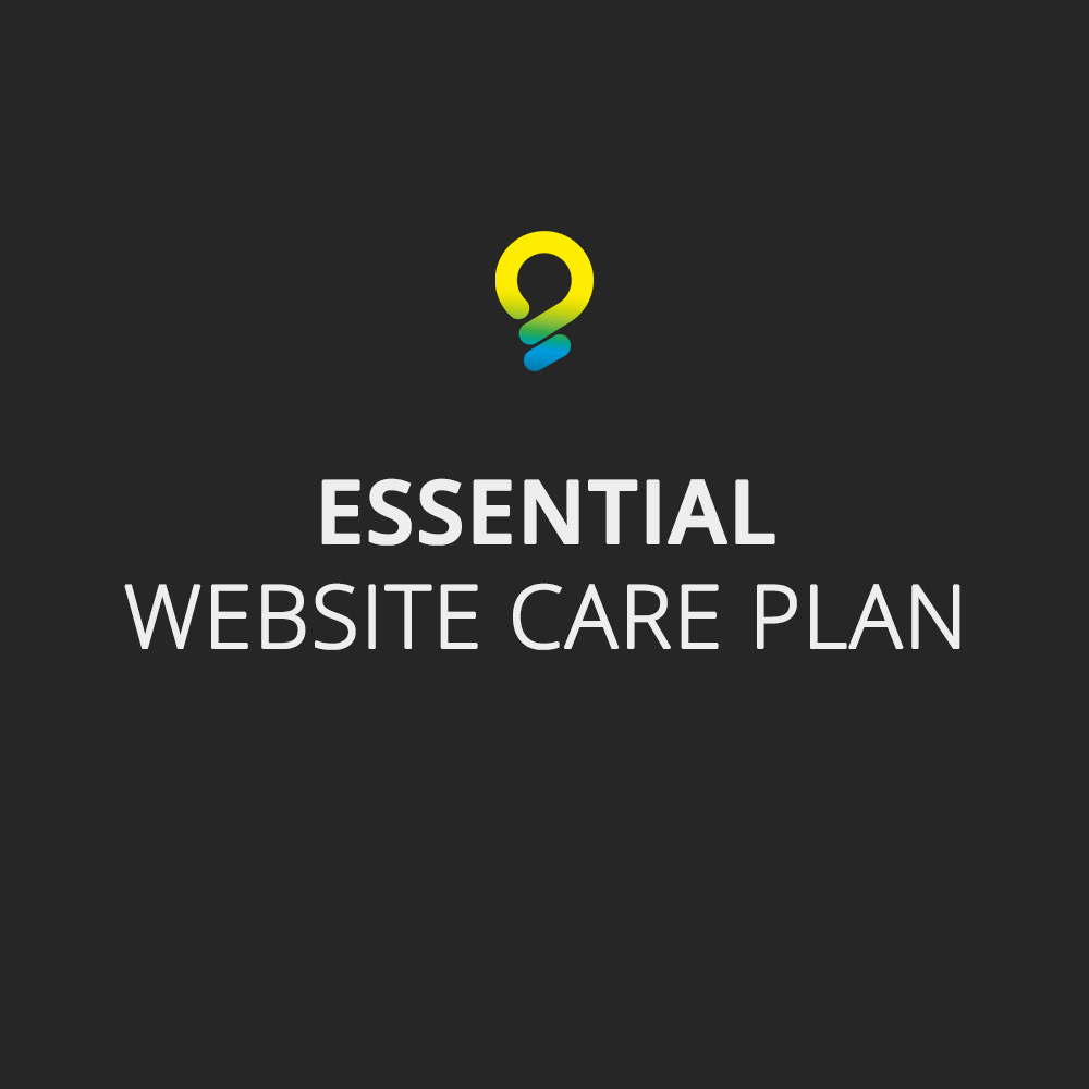 Essential care plan - website maintenance package