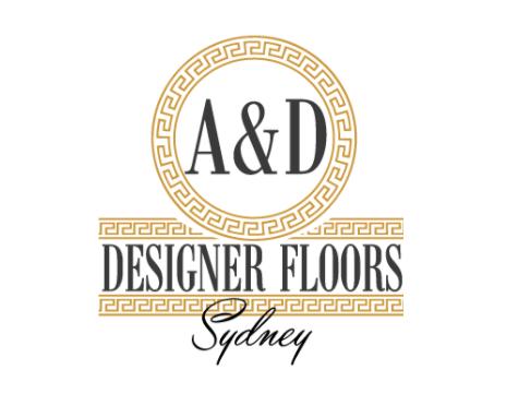 A&D Designer Floors Logo