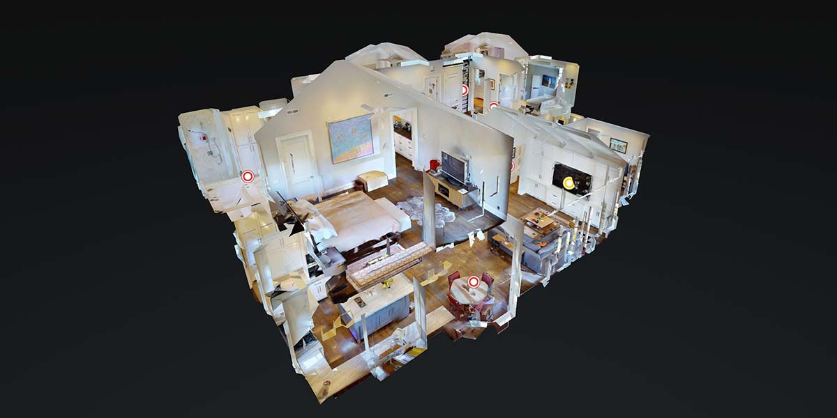 Dollhouse view - 3D Virtual Tour